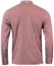Japster MERC Retro Sixties Mod Gingham Shirt (R)