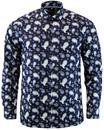 Kean MERC Retro 60s Mod Psychedelic Paisley Shirt