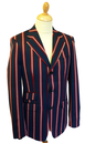 Hemmingway MERC Mens Retro 60s Mod Boating Blazer