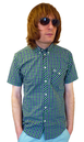 Holden MERC Retro Mod Button Down S/S Mens Shirt
