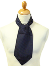 Crowley MERC Retro Sixties Polkadot Mod Cravat (N)