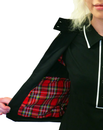 Mary MERC Retro Indie Mod Womens Harrington (B)
