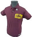 NCAA COLLEGIATE VINTAGE NEW YORK UNIVERSITY POLO