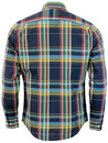 ORIGINAL PENGUIN Retro Indie Sixties Check Shirt