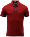 Earl ORIGINAL PENGUIN Retro Mod Tipped Polo Top P