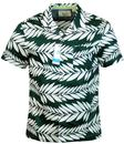 Palmist ORIGINAL PENGUIN Retro Palm Cabana Shirt