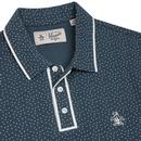 Sticker Pete ORIGINAL PENGUIN Polka Dot Polo DENIM