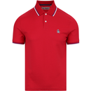 ORIGINAL PENGUIN Sticker Pete Polo Lipstick Red