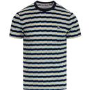 ORIGINAL PENGUIN Men's Retro Zig Zag Stripe Tee