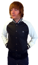 ORIGINAL PENGUIN MENS RETRO BASEBALL JACKET MOD