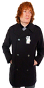 ORIGINAL PENGUIN Mod Peacoat with Removable Lining