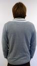 ORIGINAL PENGUIN Retro Mod Tipped V-Neck Jumper DS