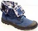 Baggy PALLADIUM Mens Retro Indie Hi Top Boots (IB)