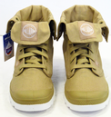 Baggy Lite PALLADIUM Retro Military Indie Boots S