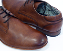 Ranger PAOLO VANDINI Mens Mod Almond Toe Shoes TAN