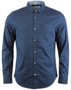 original penguin space spot poplin shirt