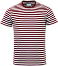 PETER WERTH BURROUGHS RETRO 60S INDIE STRIPE TEE