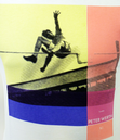 High Jump PETER WERTH Retro Indie Graphic T-Shirt