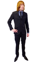PETER WERTH Retro 60s Pinstripe 3 Button Mod Suit