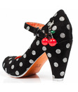 The Right Stripes POETIC LICENCE Polka Dot Heels
