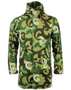PRETTY GREEN HARTLEY RETRO MOD CAMO PAISLEY PARKA