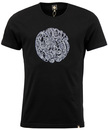 PRETTY GREEN RETRO MOD LINEAR PAISLEY LOGO T-SHIRT