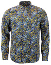 PRETTY GREEN STRETFORD 60S SIGNATURE PAISLEY SHIRT