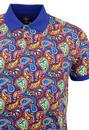 Twyford PRETTY GREEN 60s Psychedelic Paisley Polo