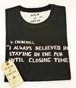 Closing Time REALM & EMPIRE Retro Quote T-Shirt