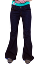 RETRO FLARES BELL BOTTOM JEANS FLARES SIXTIES MOD