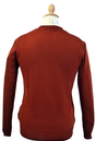 'Hunter' Retro Country Gent Intarsia Knit Jumper R