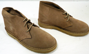 X-Section- Womens Retro Mod Suede Desert Boots (T)