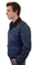 BEN SHERMAN Mens Retro Indie Mod Quilted Jacket N