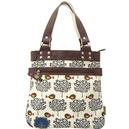 FRUIT TREE Retro Vintage Shopper Shoulder Bag