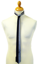 Fifty-Fifty - Micro Square Retro Mod Skinny Tie