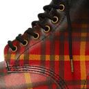 1460 Tartan DR MARTENS Men's Mod Punk Check Boots