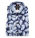 guide london palm print shirt sky