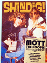 SHINDIG MAGAZINE MOTT THE HOOPLE SEVENTIES MUSIC