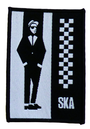 SKA MAN Retro Mod Revival 2-Tone Parka Patch
