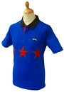 3 Star SLAZENGER HERITAGE Mens Retro Mod Polo Top