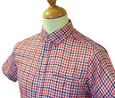 Demode SUPREMEBEING Retro Mod Cheesecloth Shirt