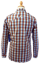 Fiennes SUPREME BEING Mens Mod Block Check Shirt P