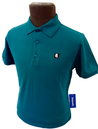 'Unify' SUPREME BEING Mens Retro Indie Mod Polo M