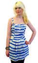 Anchor SUPREMEBEING Retro 70s Roller Stripe Dress