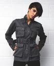SUPREME BEING Womens 'Rider' Retro Military Jacket
