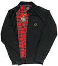 TROJAN RECORDS Tartan Lined Mod Harrington jacket