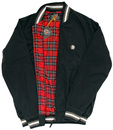 TROJAN RECORDS Tartan Lined Retro Monkey Jacket