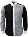 TROJAN RECORDS Mod The Who Stripe Panel Shirt