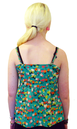 Garden Party TULLE Retro 60s Floral Mod Tank Top