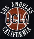 Ovtiz UCLA Retro 70s Basketball Sports T-Shirt